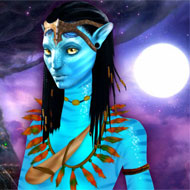 Avatar Neytiri Dress Up