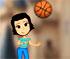 Little Girl Basketball