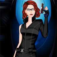 Black Widow Dress Up