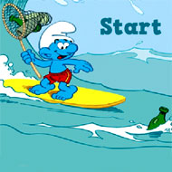 Fishing with Surfer Smurfs