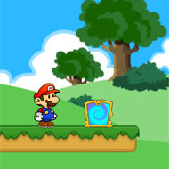 Mario Danger Forest